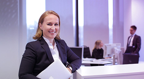 Dr. Viktoria Danzer ist Head of Transformation & Development