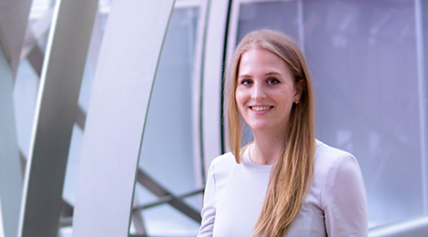 Jessica Plocher ist Project Manager (Vice President), Deutsche Bank AG